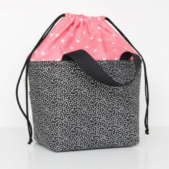 LUNCH BAG 'CORAL CROSS'