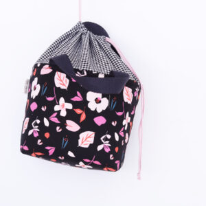 LUNCH BAG SMALL 'CHIC FLOWERS'