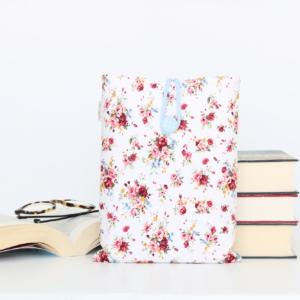 FUNDA LIBRO 'WHITE FLOWERS'